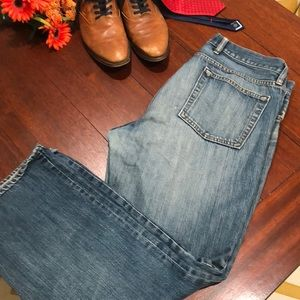 GAP men's straight fit jeans worn in condition